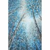 Yosemite Home Decor Revealed Artwork Into The Trees Original Painting on Wrapped Canvas
