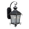Vaxcel Sonnet 1 Light Outdoor Wall Lantern