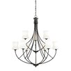 Vaxcel Poirot 9 Light Chandelier