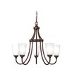 Vaxcel Lorimer 5 Light Chandelier