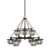 Vaxcel Jamestown 9 Light Chandelier