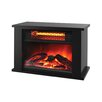 Lifesmart Lifezone 750 Watts Table Top Infrared Heater with Fireplace Display