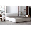 Diamond Sofa Euro Upholstered Panel Bed