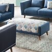 Diamond Sofa Magnetic Patterned Rectangular Ottoman