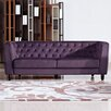 Diamond Sofa Bellini Button Tuft Sofa