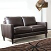Diamond Sofa Omega Full Leather Loveseat
