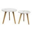 Diamond Sofa Pebble 2 Piece Nesting Tables (Set of 2)