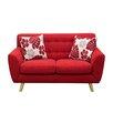 Diamond Sofa Scarlett Solid Loveseat