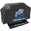 Mr. Bar-B-Q 2 Piece NCAA Grill Cover and Grill Mat Set