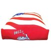 Dogzzzz Rectangle American Flag Dog Pillow