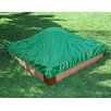 Frame It All 4' W Square Sandbox with Cover