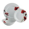 Aynsley China Breeze 12 Piece Porcelain Dinnerware Set