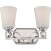 Nuvo Lighting Connie 2 Light Vanity Light