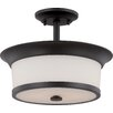 Nuvo Lighting Mobili 2 Light Semi Flush Mount
