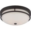 Nuvo Lighting Nevel 2 Light Flush Mount