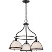 Nuvo Lighting Sagamore 3 Light Mini Chandelier