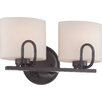 Nuvo Lighting Lola 2 Light Vanity Light