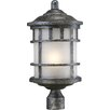 Nuvo Lighting Manor 1 Light Outdoor Post Light