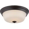 Nuvo Lighting Calvin 2 Light Flush Mount
