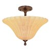 Nuvo Lighting Moulan Semi Flush Mount