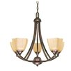 Nuvo Lighting Normandy 5 Light Chandelier