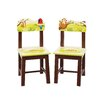 Guidecraft Jungle Party Kids Desk Chair (Set of 2)