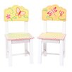 Guidecraft Gleeful Bugs Kids Desk Chair (Set of 2)
