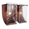 Varaluz Rain Recycled 2 Light Bath Vanity Light