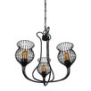 Varaluz Encaged 3 Light Mini Chandelier