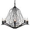 Varaluz Wright Stuff 6 Light Candle Chandelier