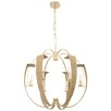 Varaluz Tinali 6 Light Candle Chandelier