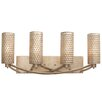 Varaluz Casablanca 4 Light Vanity Light