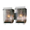 Varaluz Recycled Rain Bath Light - Two Light in Rainy Night