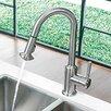 Vigo One Handle Single Hole Pull Down Spray Kitchen Faucet