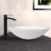 Vigo Glass Vessel Bathroom Sink and Duris Faucet Set
