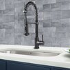 Vigo Single Handle Pull-Down Spray Kitchen Faucet