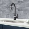 Vigo Single Handle Pull-Down Kitchen Faucet