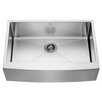 Vigo 33 inch Farmhouse Apron Single Bowl 16 Gauge Stainless Steel Kitchen Sink
