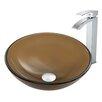 Vigo Vessel Bathroom Sink and Duris Faucet