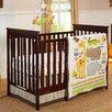 NoJo Zoobilee 4 Piece Crib Bedding Set