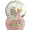 Precious Moments Jesus Loves Me Musical Water Globe