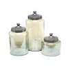 IMAX 3 Piece Round Luster Canister Set