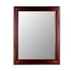 Hitchcock Butterfield Company Cameo Collection Mirror in Bavarian Walnut Gold