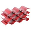 Oenophilia Bali 12 Bottle Wine Rack in Red