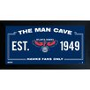 Steiner Sports NBA Framed Man Cave Sign Memorabilia