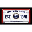 Steiner Sports Man Cave Framed Graphic Art