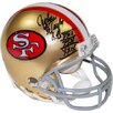 Steiner Sports Decorative John Taylor Signed San Francisco 49ers Mini Helmet