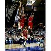 Steiner Sports John Starks with Cartwright Dunk Vertical Photo Photographic Print
