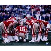 Steiner Sports Joe Montana San Francisco 49ers Huddle Photo Graphic Art