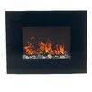Northwest Glass Wall Mount Electric Fireplace